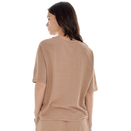 Paper Label Robyn Tee - Toasted Taupe