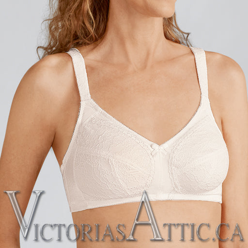 Amoena Ina Mastectomy Bra - Off White
