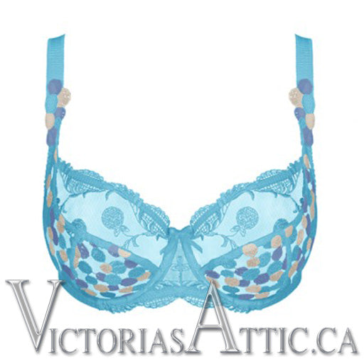Empreinte Tiffany Uw Low Necked Bra Horizon Blue