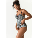 Prima Donna Road Trip Swim Boxer Bottoms - Blue Print