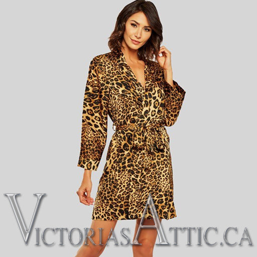 ICollection Animal Print Robe