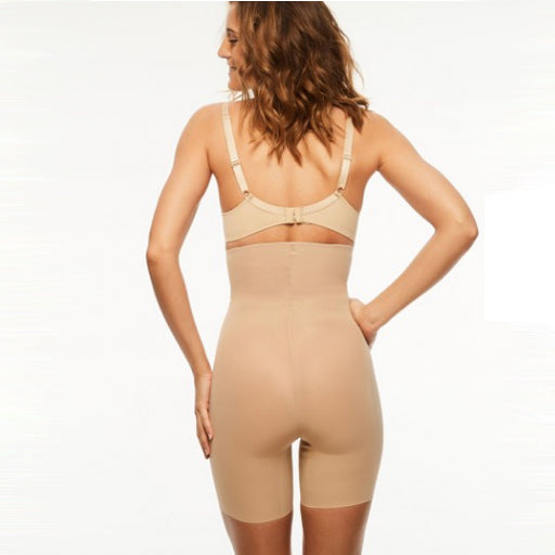 Chantelle Basic Shaping High Waist Mid-Thigh Brief Nude