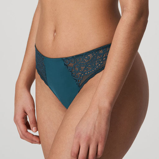 Prima Donna Twist I Do Thong Deep Teal