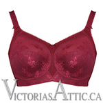 Goddess Alice Soft Cup Bra Red