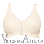 Amoena Greta Front/Back Closure Nude