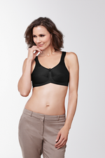 Amoena Kelly Wireless Mastectomy Bra Black