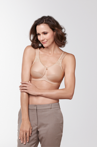Amoena Kelly Wireless Mastectomy Bra Nude