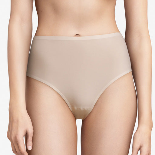 Chantelle Seamless One Size High Waisted Thong Nude