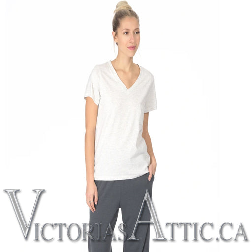 Paper Label Carter V-Neck Top