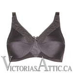 Amoena Nancy Wire-Free Bra Dark Grey