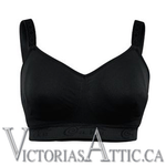Cake Sugar Candy Fuller Figure Seamless Bra Black