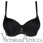 Prima Donna Twist I Do UW Heart Shape Moulded Bra - Black