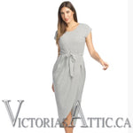 Papillon Striped Maxi Dress