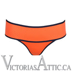Prima Donna Joy Boxer Bikini Briefs Tiger Orange