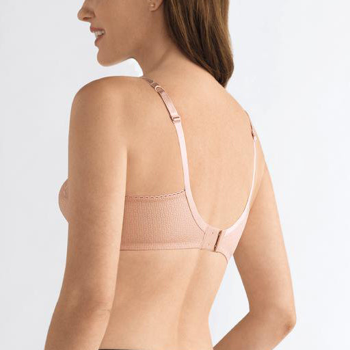 Amoena Ellen Non Wired Bra Rose Nude