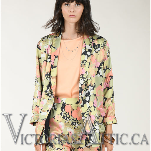 Molly B Printed Blazer