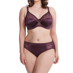 Elomi Cate Full Cup Banded Uw Bra Black Cherry