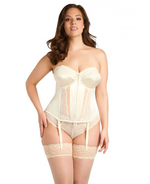 Elomi Maria Uw Bustier D-Ff White