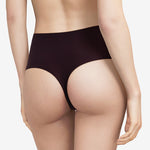 Chantelle Seamless One Size High Waisted Thong Black