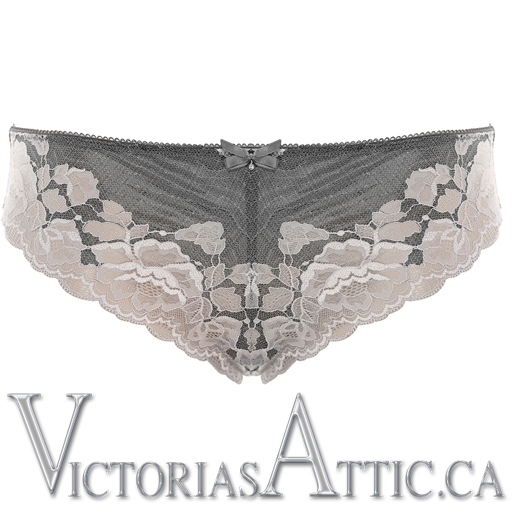 Fantasie Marianna Brazilian Brief Silver