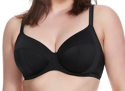 Elomi Essentials Underwire Swim Bra Black