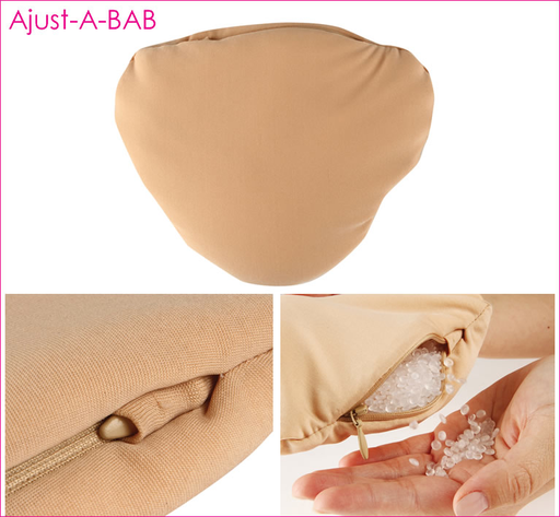 Janac Adjust-A-Bab Prosthesis W Fibrefill And Bag Of Beads Nude S
