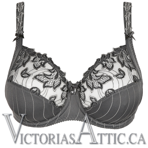 Prima Donna Deauville Full Cup Uw Bra Winter Grey