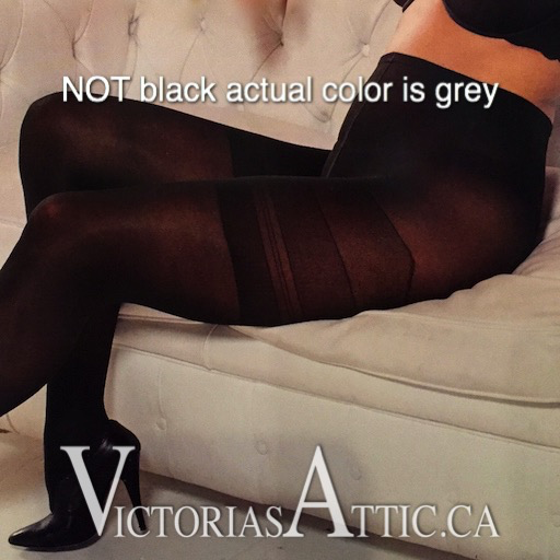 Trasparenze Sibilla PLUS 40 Denier Nylons Grey-90160-Grey-12-14