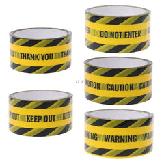 Yellow Opp Warning Tapes