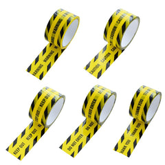 Opp Yellow Warning Tapes Sticker