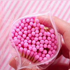 100 Pcs Double Head Disposable Cotton Swab