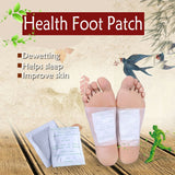 10Pcs/Bag Fashion Herbal Detox Foot Pads Patches