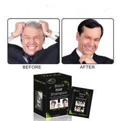 White Become Black Fast Hair Dye for elder