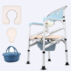 Chair Commode Shower Chair With Padded Toilet Seat