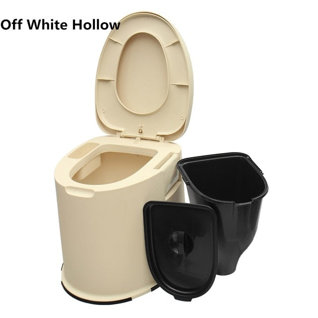 Mobile toilet With Seat Potty Commode