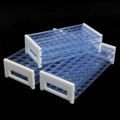 13/16/18mm Clear Plastic 3 Layers Centrifugal Test Tubing Rack Holder