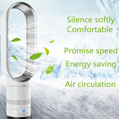 16 Inch Remote Control Bladeless Fan Electric Home Ventilator