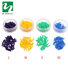 1Box Disposable Dental Materials Wedges Plastic