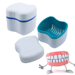 Denture False Teeth Cleaning Tool Box