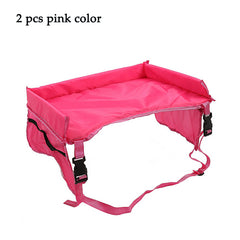 2PCS Waterproof Car Seat Table