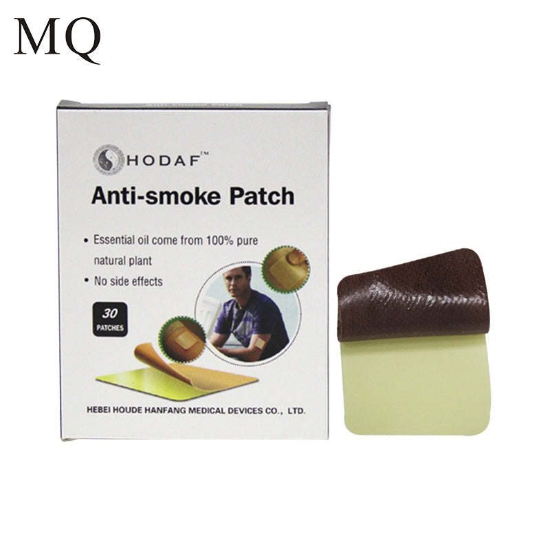 30 Pcs/ Box MQ 100% Natural No side effects Stop Smoking Patches