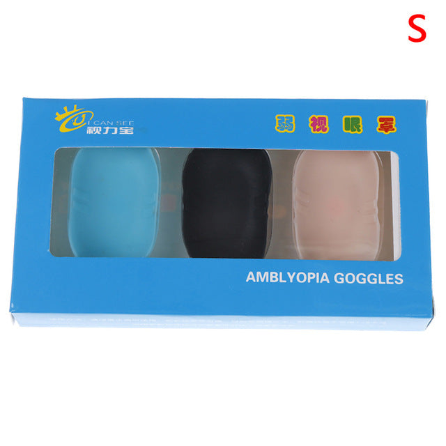 3Pcs Amblyopia Soft Eye Patches