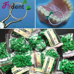 40pcs Silicone Dental Add-On Wedges