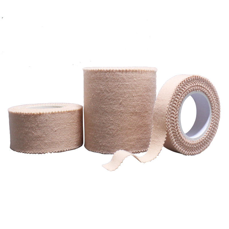 5 Rolls/Lot Medical Tape Gauze Fixation Tape Skin Color Adhesive Plaster Hypo-allergenic