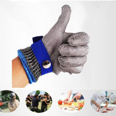 5 grade Protection anti cutting gloves steel work hand Safety