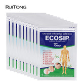 50Pcs/lot Vietnam Ecosip Herb Paster Treatment Osteoarthritis rheumatism Pain Relief Patch