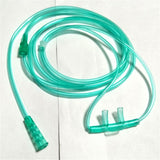 50pcs/set Nasal Oxygen Cannula 156mm Disposable soft Double Nasal Straw Type