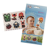 6 pcs/box Baby Cartoon animal Forehead Thermometers Sticker LCD Digital Strip