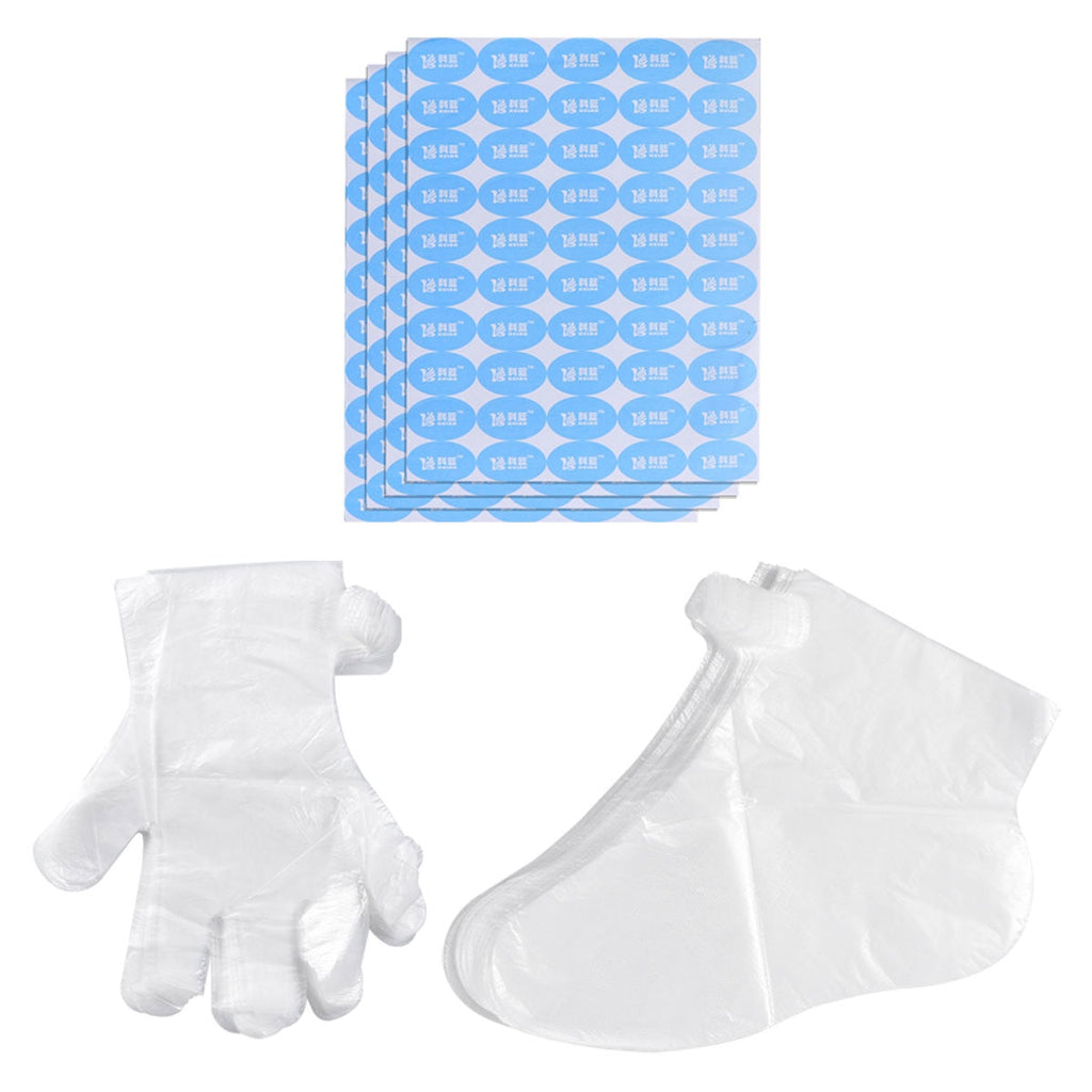 600pcs Gloves Foot Cover with Stickers