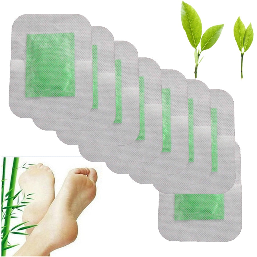 8Pcs Detox Foot Pads Organic Herbal